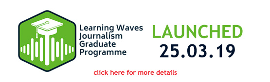 Learning Waves Journalism Graduate Programme