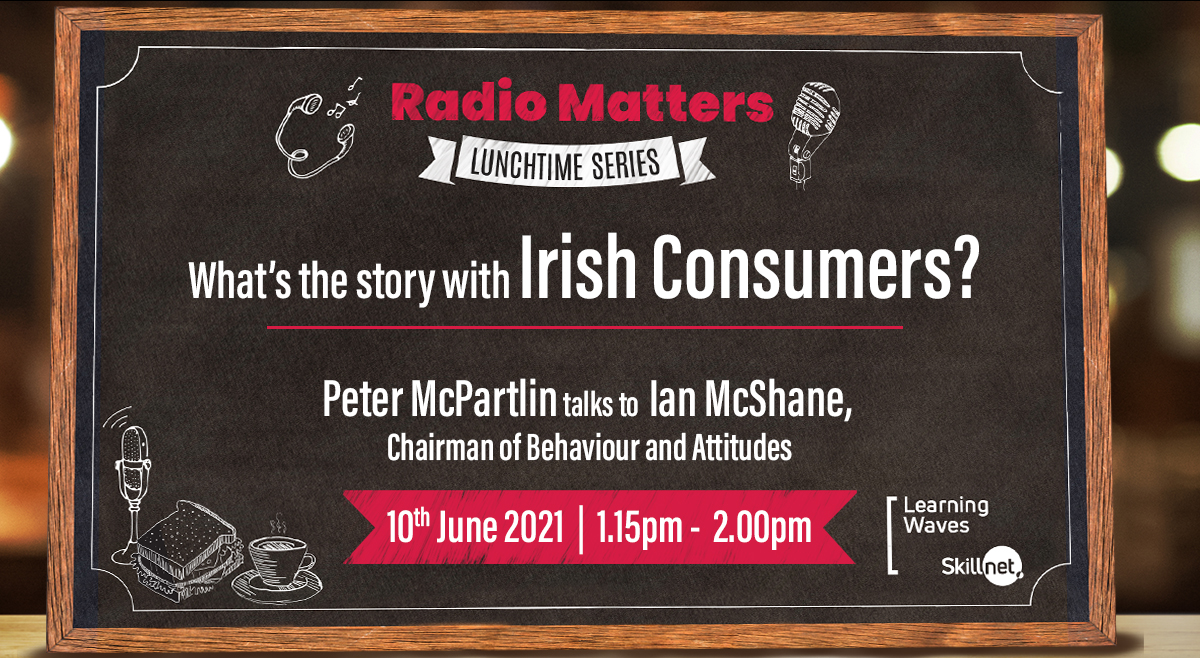 Radio Matters Lunchtime Series - Peter McPartlin in conversation with Ian McShane