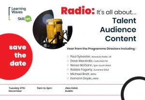 Radio Training Course Outlines Ireland - Learning Waves Skillnet