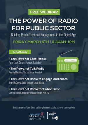 Building Public Trust and Engagement in the Digital Age using the Power of Radio