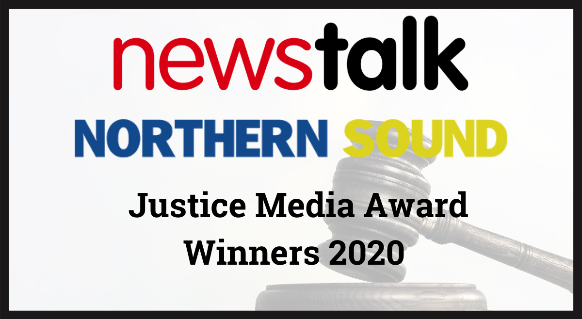 Newstalk and Northern Sound win at Justice Media Awards 2020