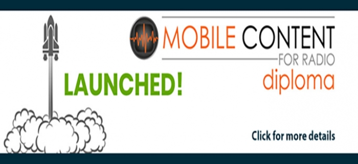 Mobile Content for Radio Diploma Launched