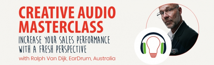 Creative Audio Masterclass with Ralph Van Dijk