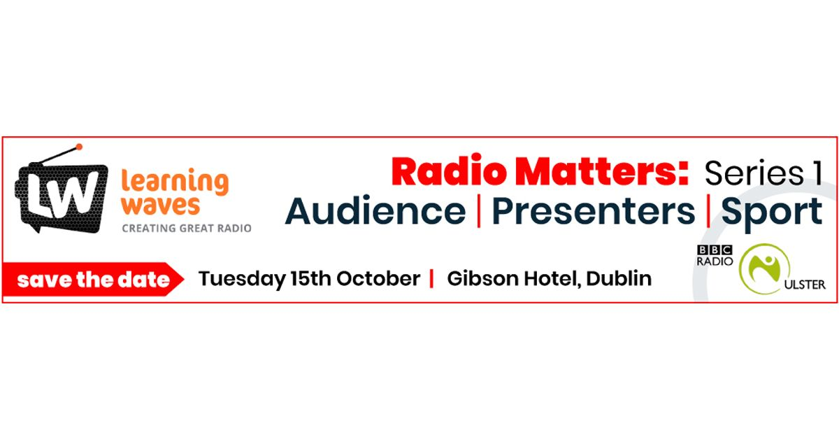Radio Matters : Series 1 Audience Insights - Presenters - Women in Sports Broadcasting - Creative Storytelling