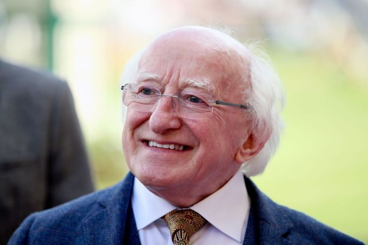 President Michael D. Higgins shares a message of hope, positivity and resilience on Independent Radio Stations