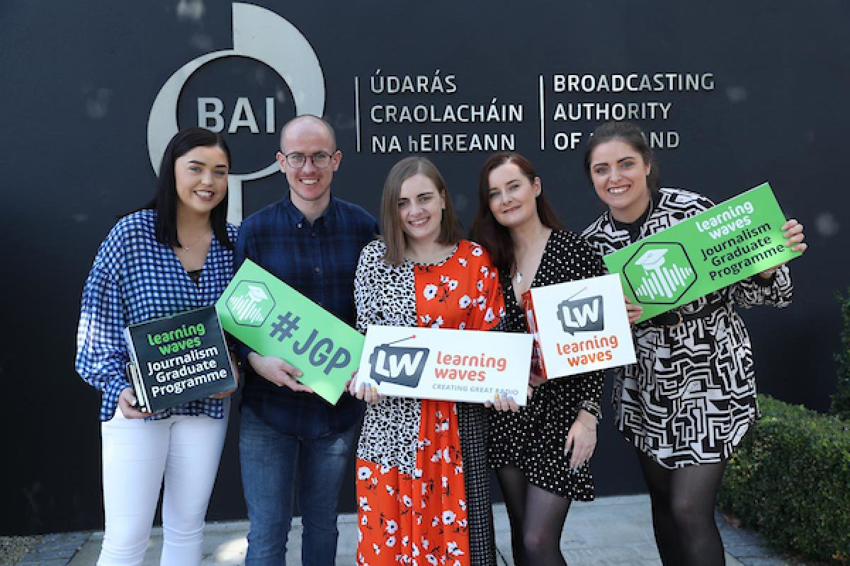 Five newly qualified journalists awarded placements under radio Journalism Graduate Programme