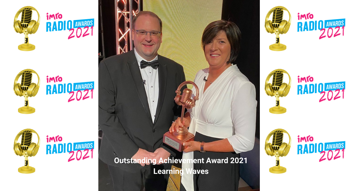 Learning Waves receives Outstanding Achievement Award at IMRO Radio Awards 2021
