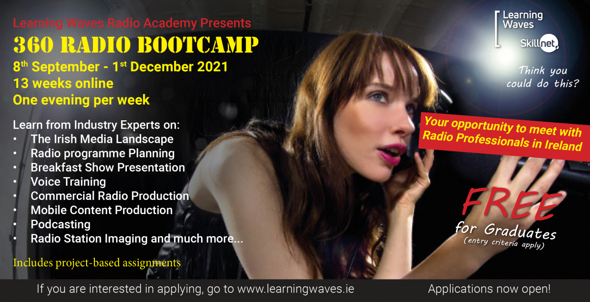 Learning Waves launches 360 Broadcast Bootcamp Course for 2021