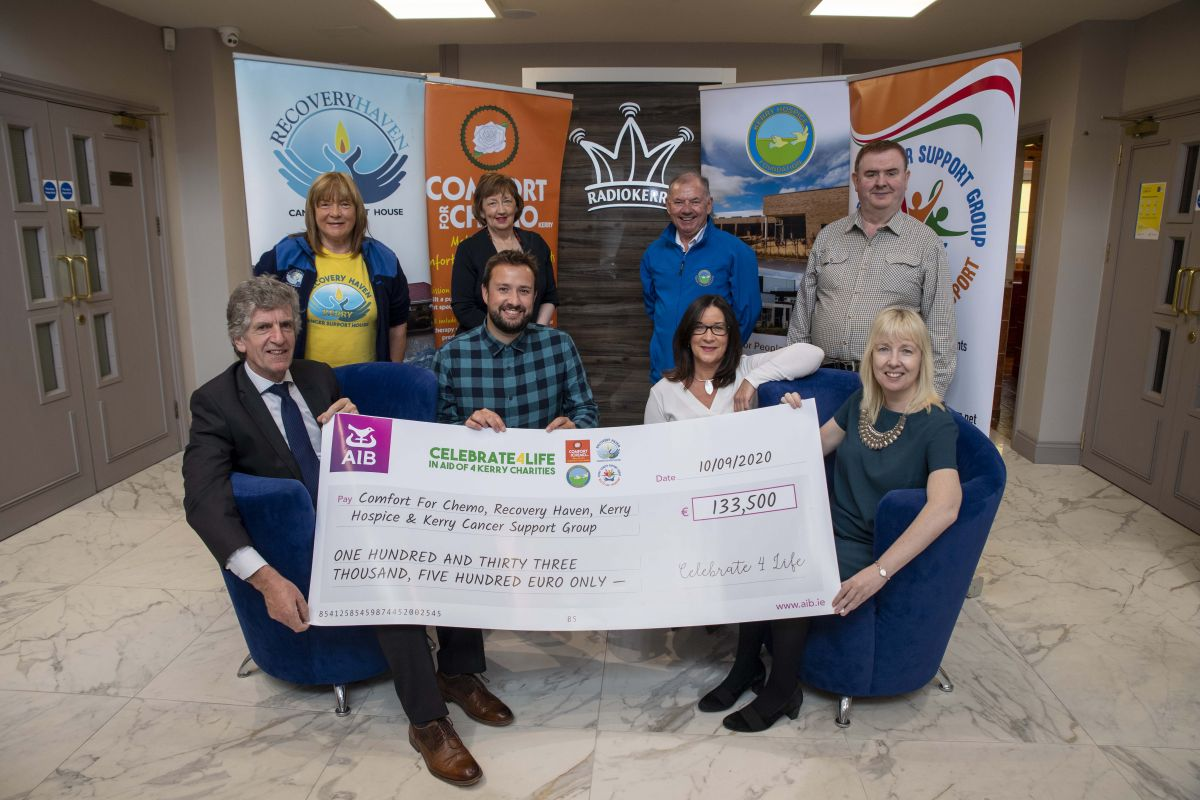 Radio Kerry's Celebrate4Life has raised €133,500 for 4 Kerry Charities