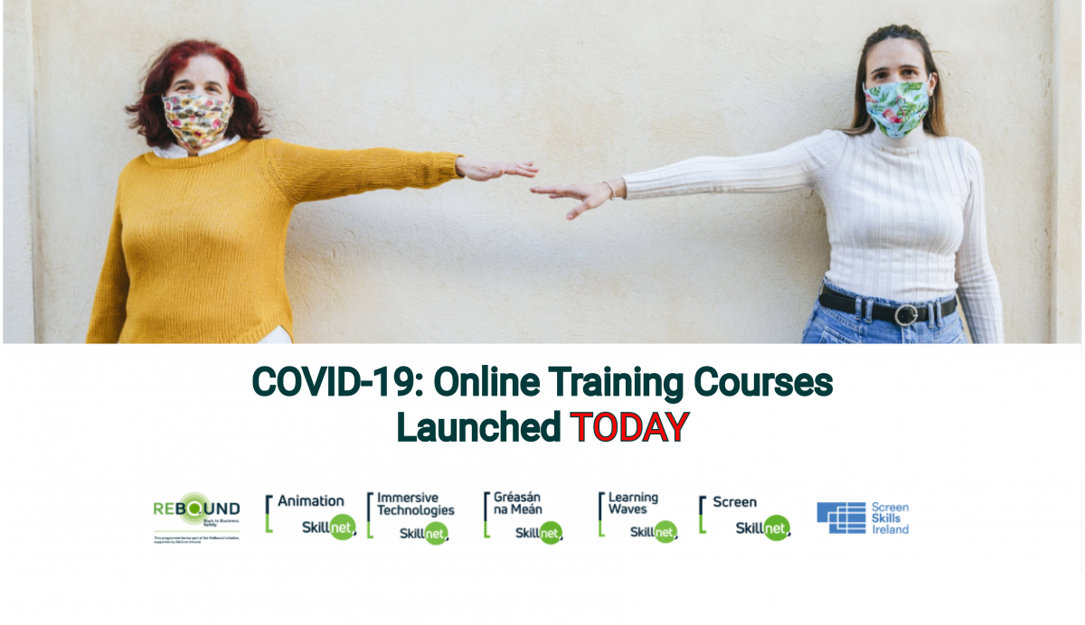 Learning Waves Skillnet and Skillnet Ireland Announce COVID-19 Return to Work Training for the Audio-Visual Sector