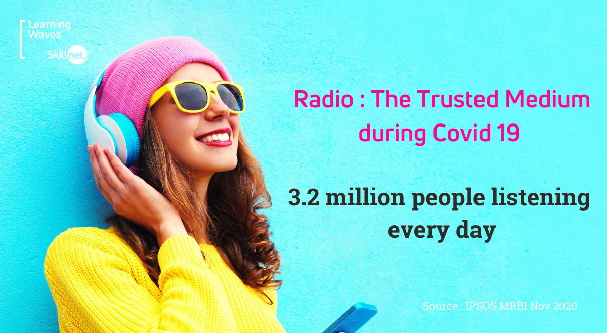 Radio : The Trusted Medium during Covid 19